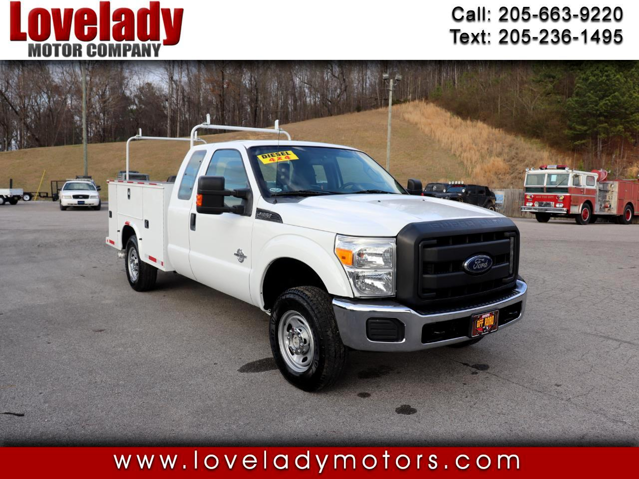 "Ford Super Duty F-250 SRW 4WD SuperCab 158"" XLT 2015"