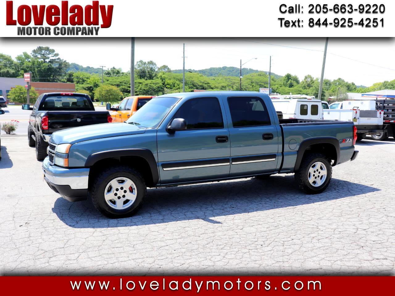 "Chevrolet Silverado 1500 Crew Cab 143.5"" WB 4WD LT2 2006"