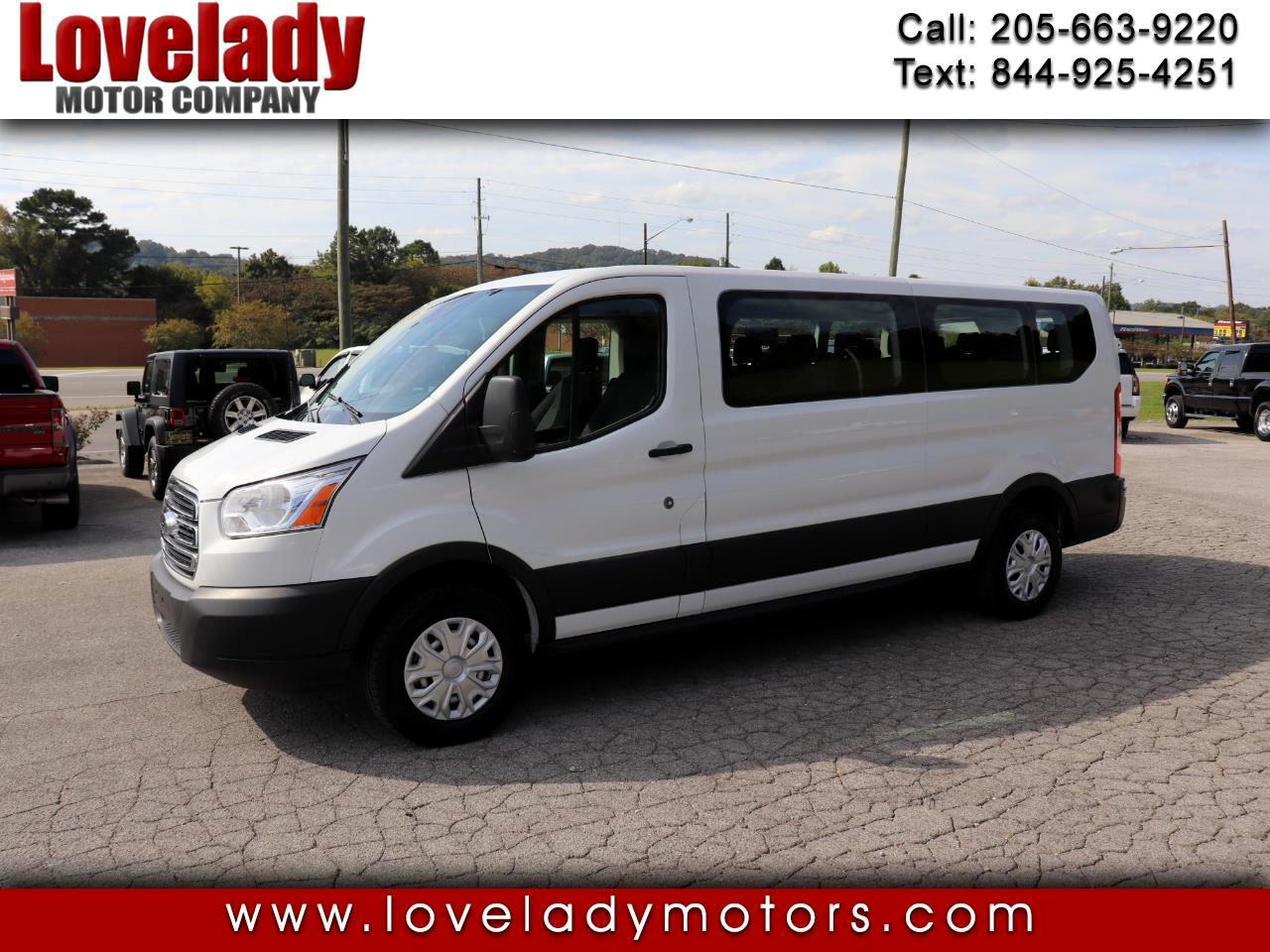 """Ford Transit Passenger Wagon T-150 130"""" Low Roof XLT Swing-Out RH Dr 2019"""