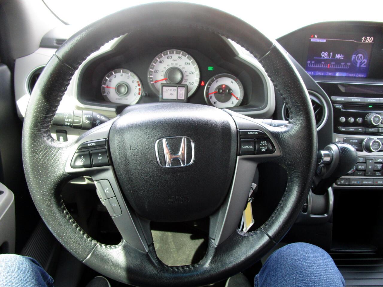 2013 Honda Pilot EX-L 4WD 5-Spd AT