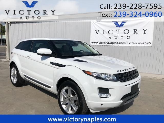 2012 Land Rover Range Rover Evoque Pure Plus 3-Door