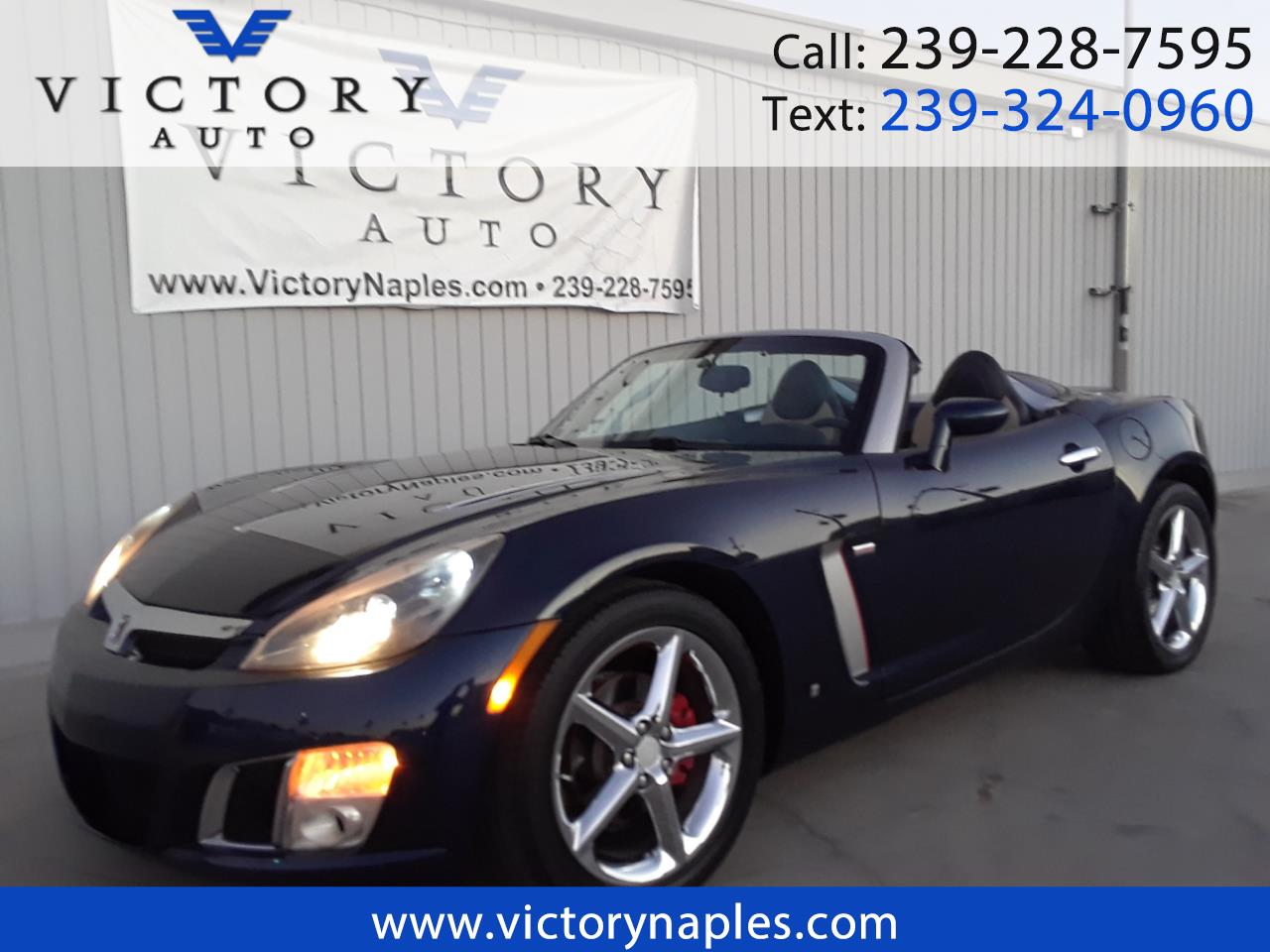 2007 Saturn Sky 2dr Conv Red Line
