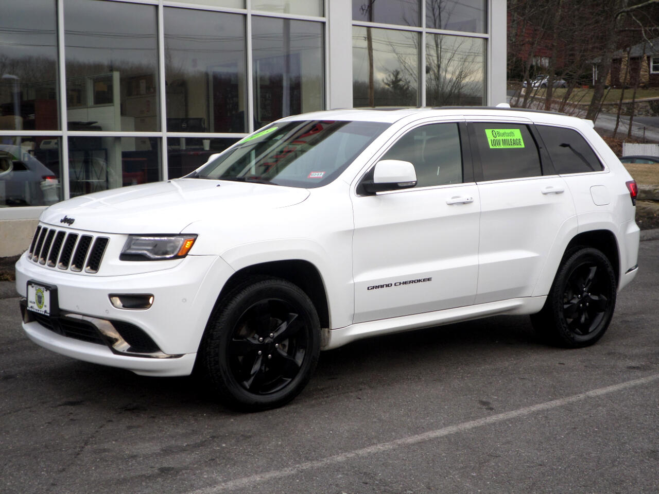 2015 Jeep Grand Cherokee WHITE ON BLACK LEATHER FULLY LOADED