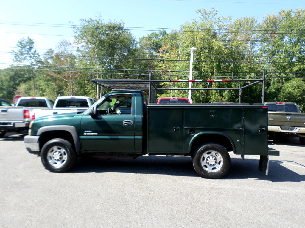 2007 Chevrolet Silverado Classic 2500HD LBZ DURAMAX DIESEL UTILITY BODY WITH FISHER PLOW