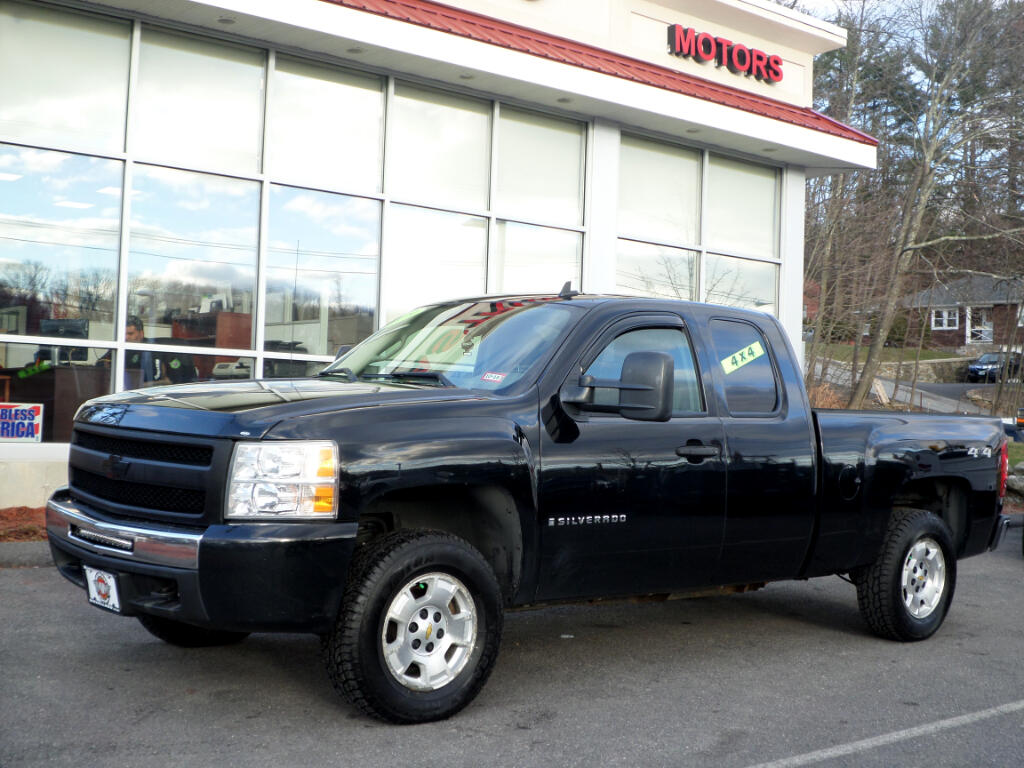 2009 Chevrolet Silverado 1500 BLACK ON BLACK 4WD