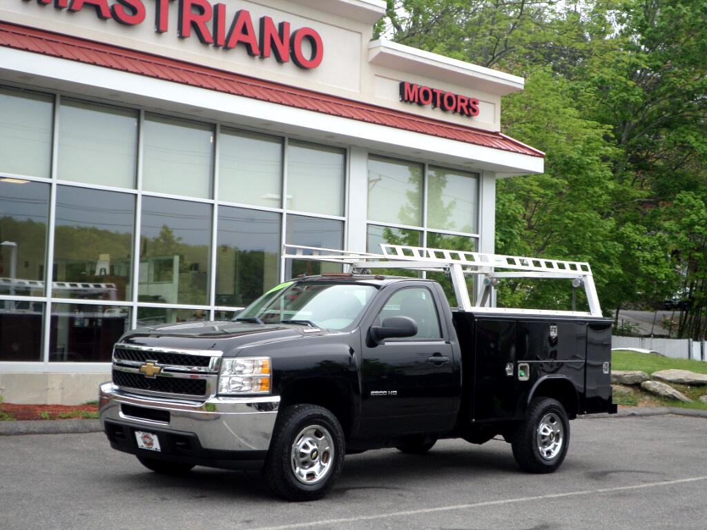 2011 Chevrolet Silverado 2500HD DURAMAX DIESEL ALLISON TRANS READING UTILITY BODY