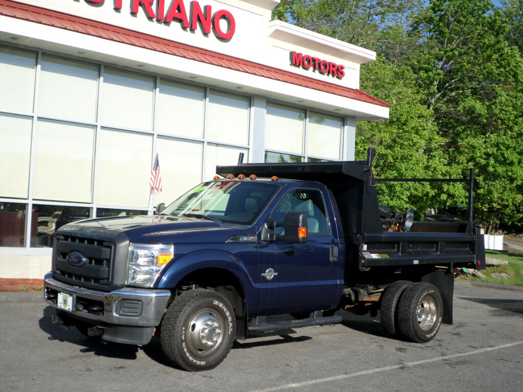 2012 Ford Super Duty F-350 DRW POWERSTROKE DIESEL DUMP ONLY 30,000 MILES!!!