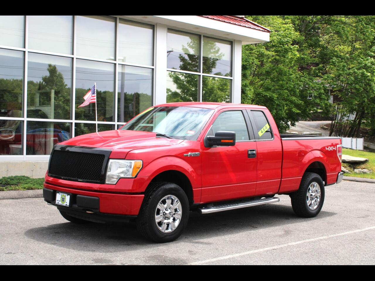 2010 Ford F-150 4WD SUPERCAB XLT ONE OWNER TRUCK