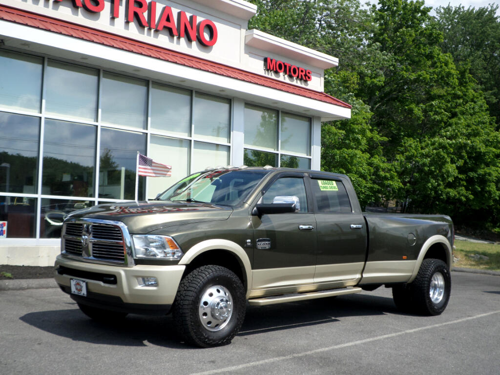 2011 Dodge Ram 3500 CREW CAB DUALLY CUMMINS TURBO DIESEL LONGHORN !!