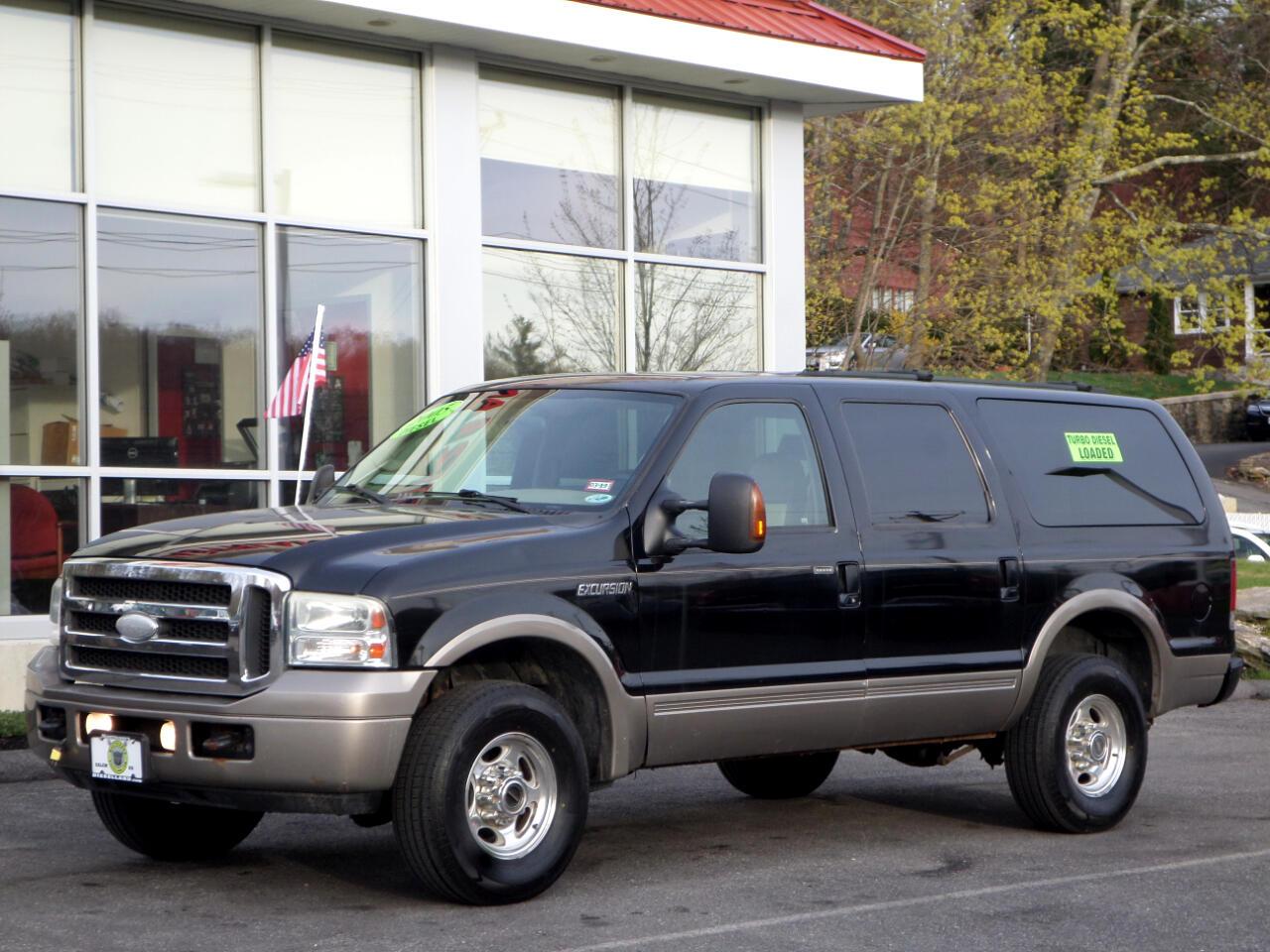 2005 Ford Excursion POWERSTROKE DIESEL EDDIE BAUER FULLY LOADED !!