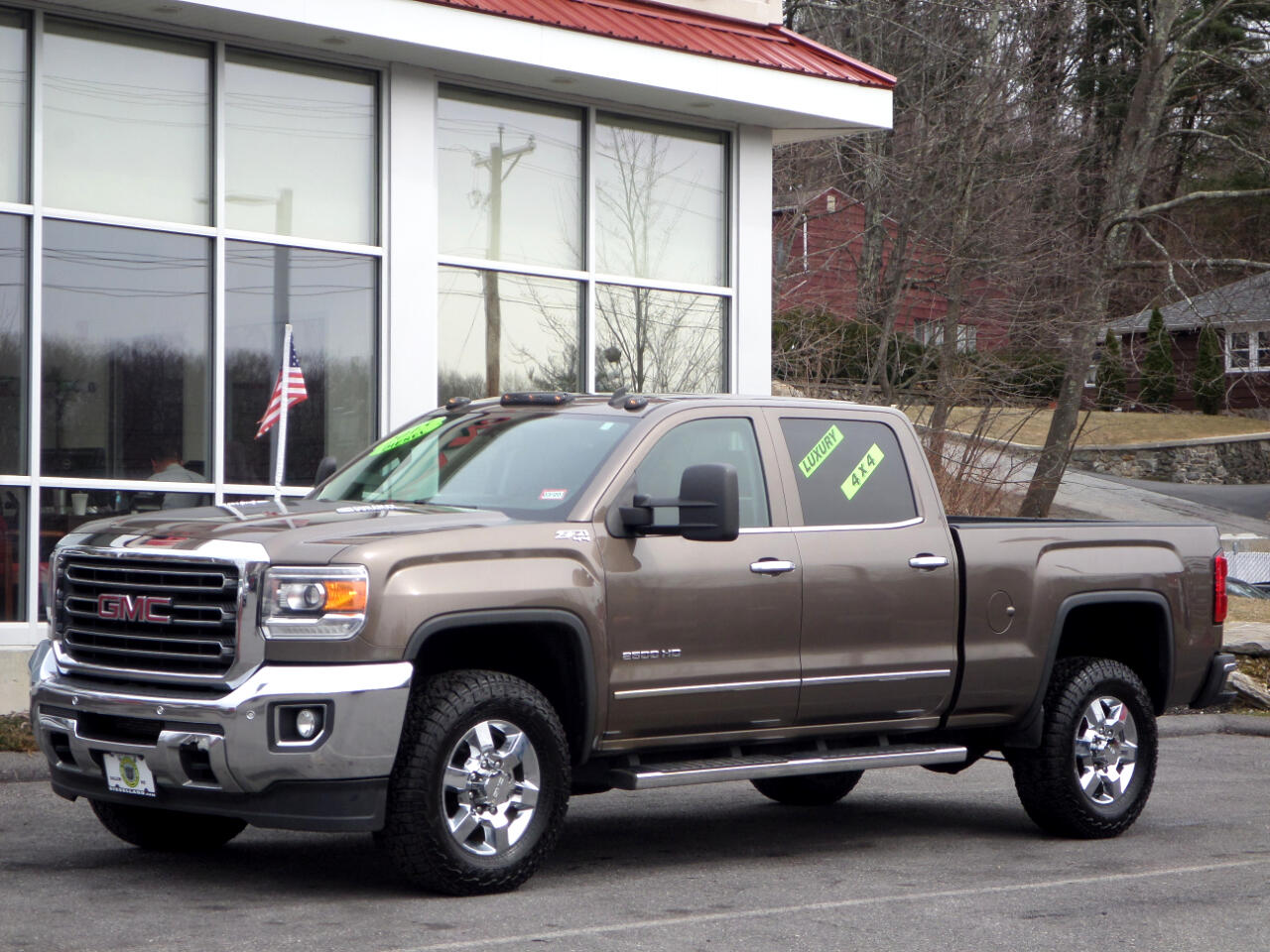 2015 GMC Sierra 2500HD SLT DURAMAX DIESEL CREW CAB LOADED ALL THE OPTIONS