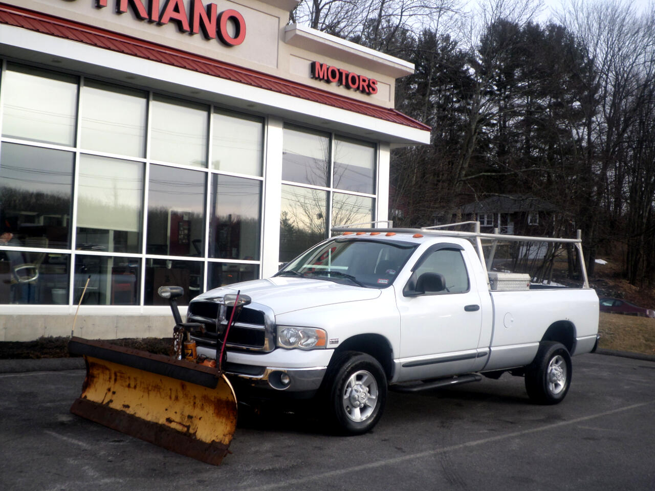 2003 Dodge Ram 2500 REGULAR CAB 8FT BED WITH 8FT PLOW