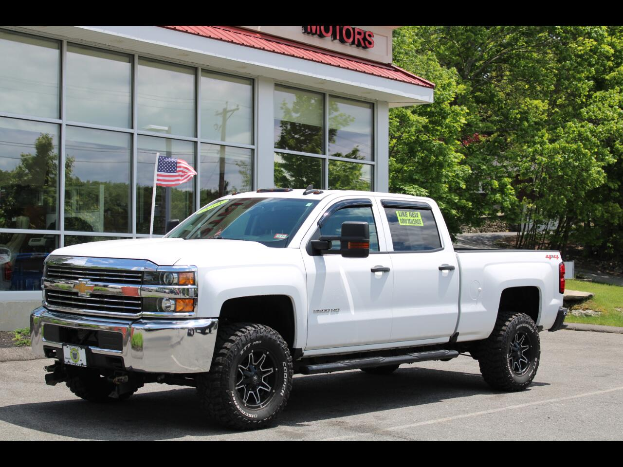 2018 Chevrolet Silverado 2500HD CREW CAB SHORTBED LIKE BRAND NEW ONLY 8,000 MILES