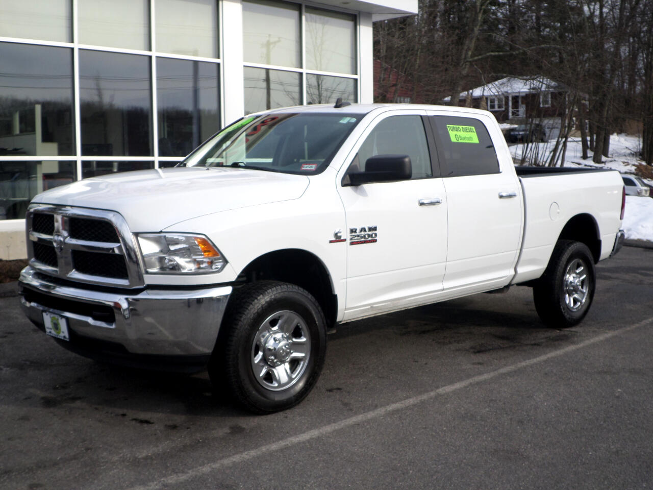 2017 RAM 2500 CREW CAB SHORT BED CUMMINS TURBO DIESEL