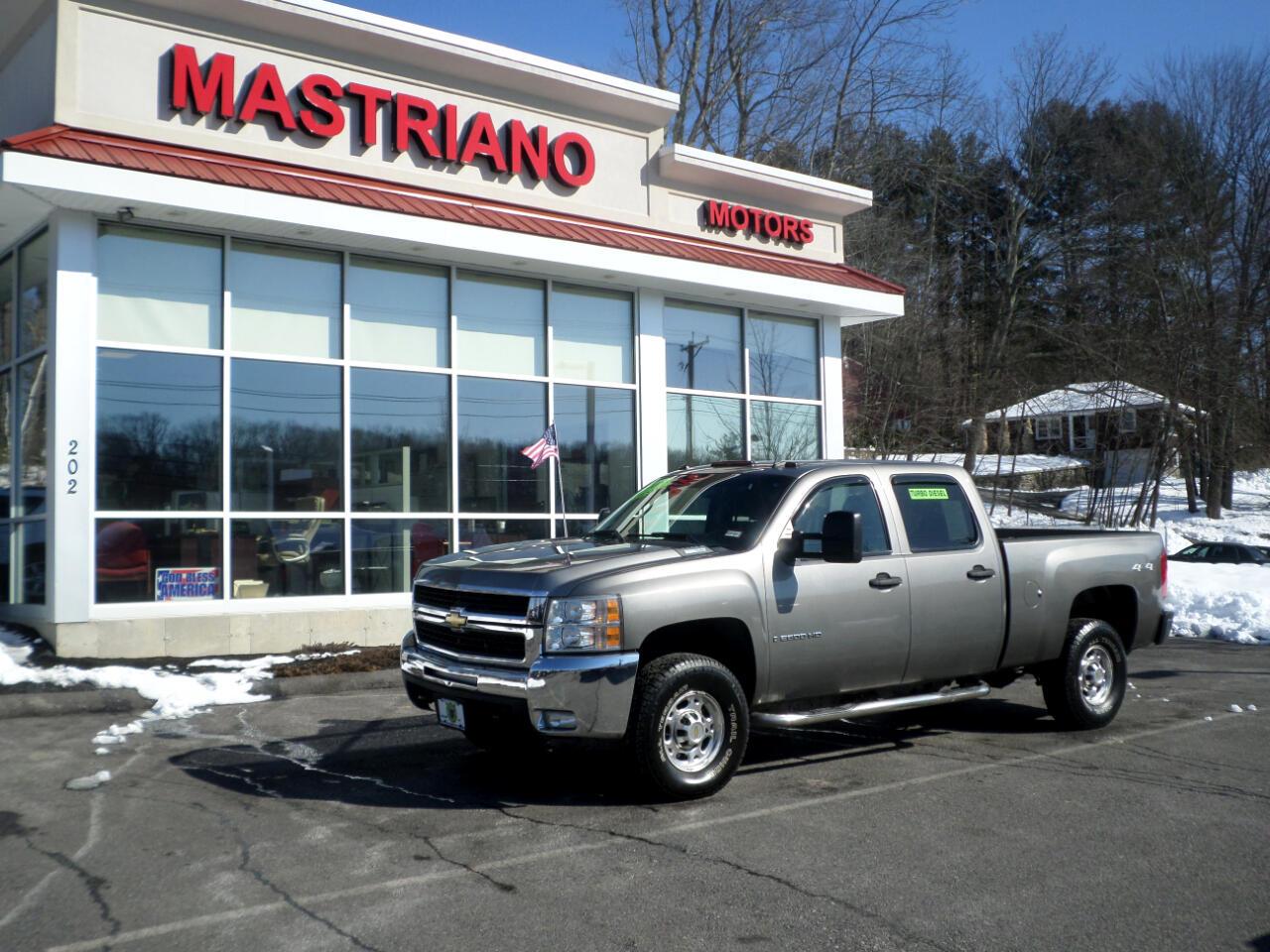 2008 Chevrolet Silverado 2500HD CREW CAB DURAMAX DIESEL ALLISON TRANS