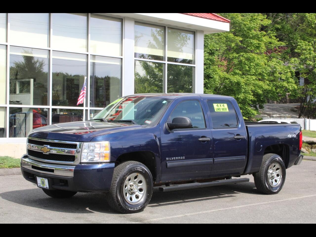 2011 Chevrolet Silverado 1500 CREW CAB SHORT BED 4 NEW TIRES ICE COLD A/C