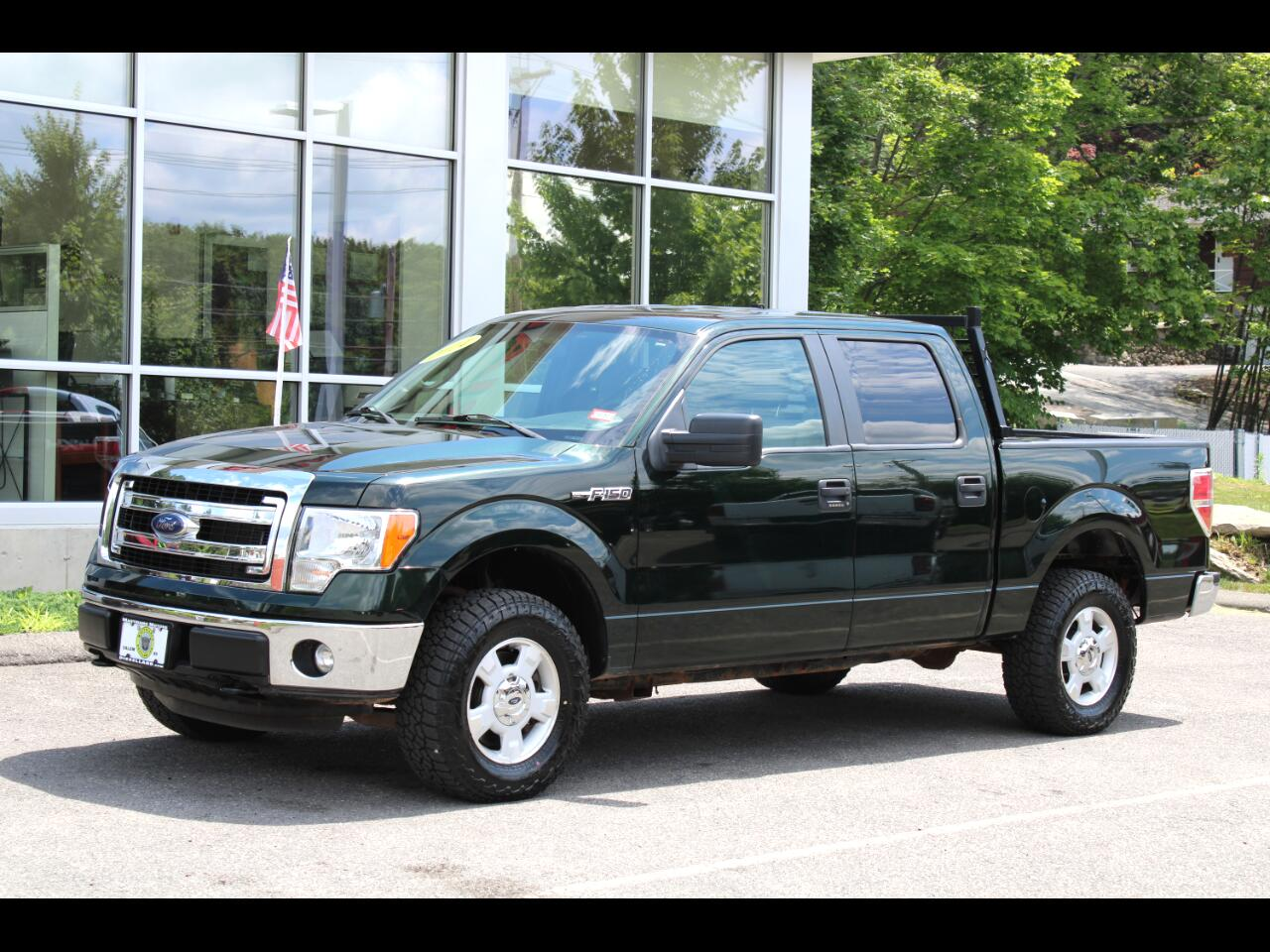 2014 Ford F-150 4WD SUPERCREW XLT CLEAN TRUCK (4) NEW TIRES !!