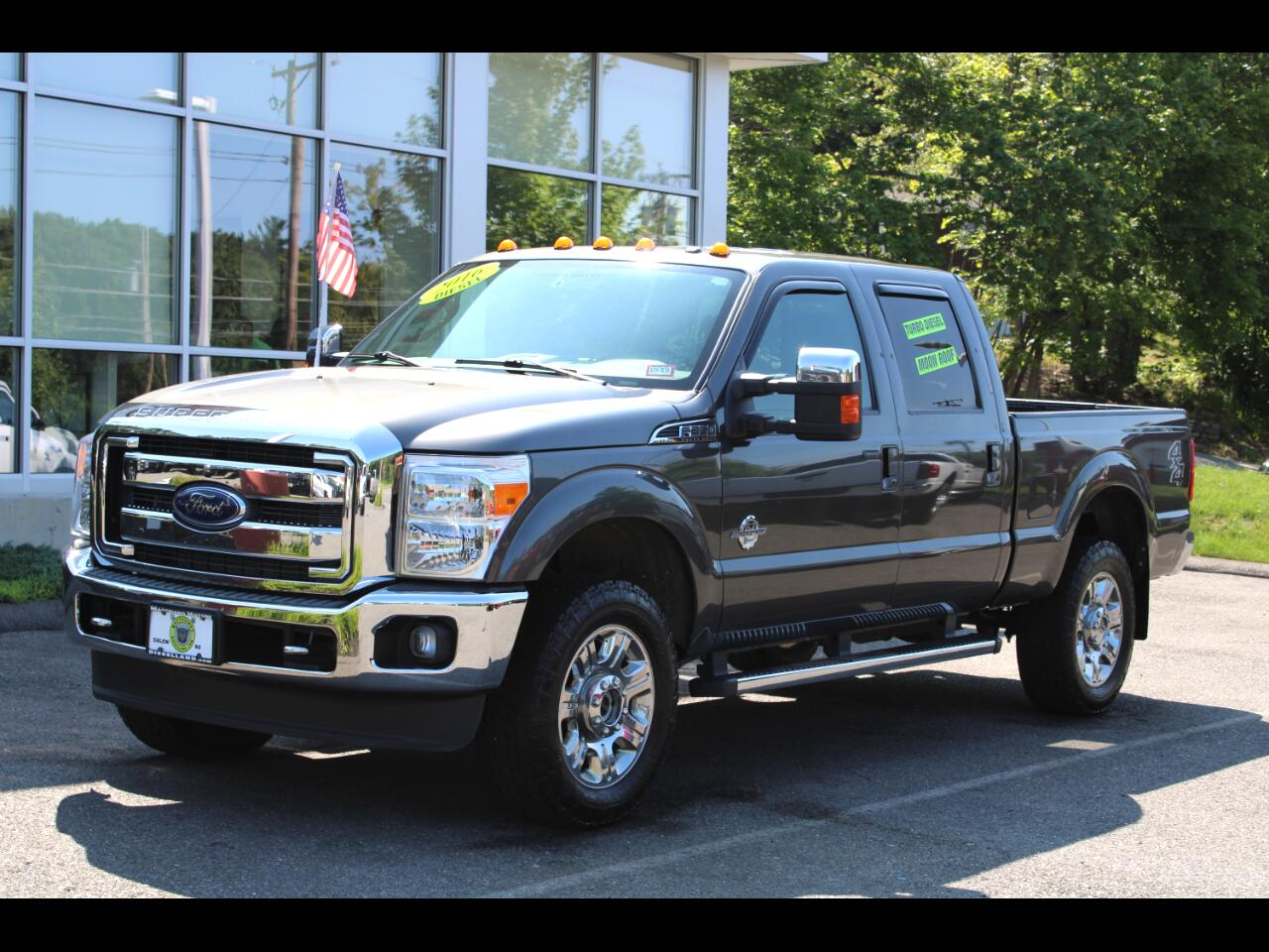 2016 Ford F-350 SD CREW CAB POWERSTROKE DIESEL LARIAT LOADED !!!