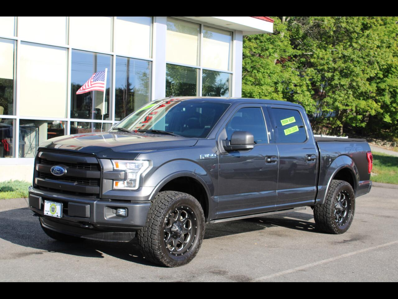 2016 Ford F-150 SuperCrew 4WD LARIAT WITH ALL THE OPTIONS !!