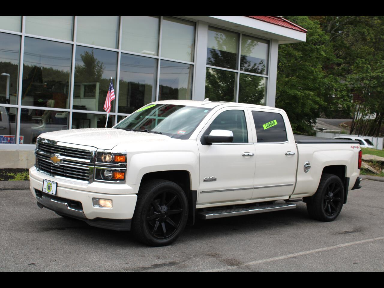 2015 Chevrolet SILVERADO 4WD CREW CAB HIGH COUNTRY ALL THE OPTIONS!