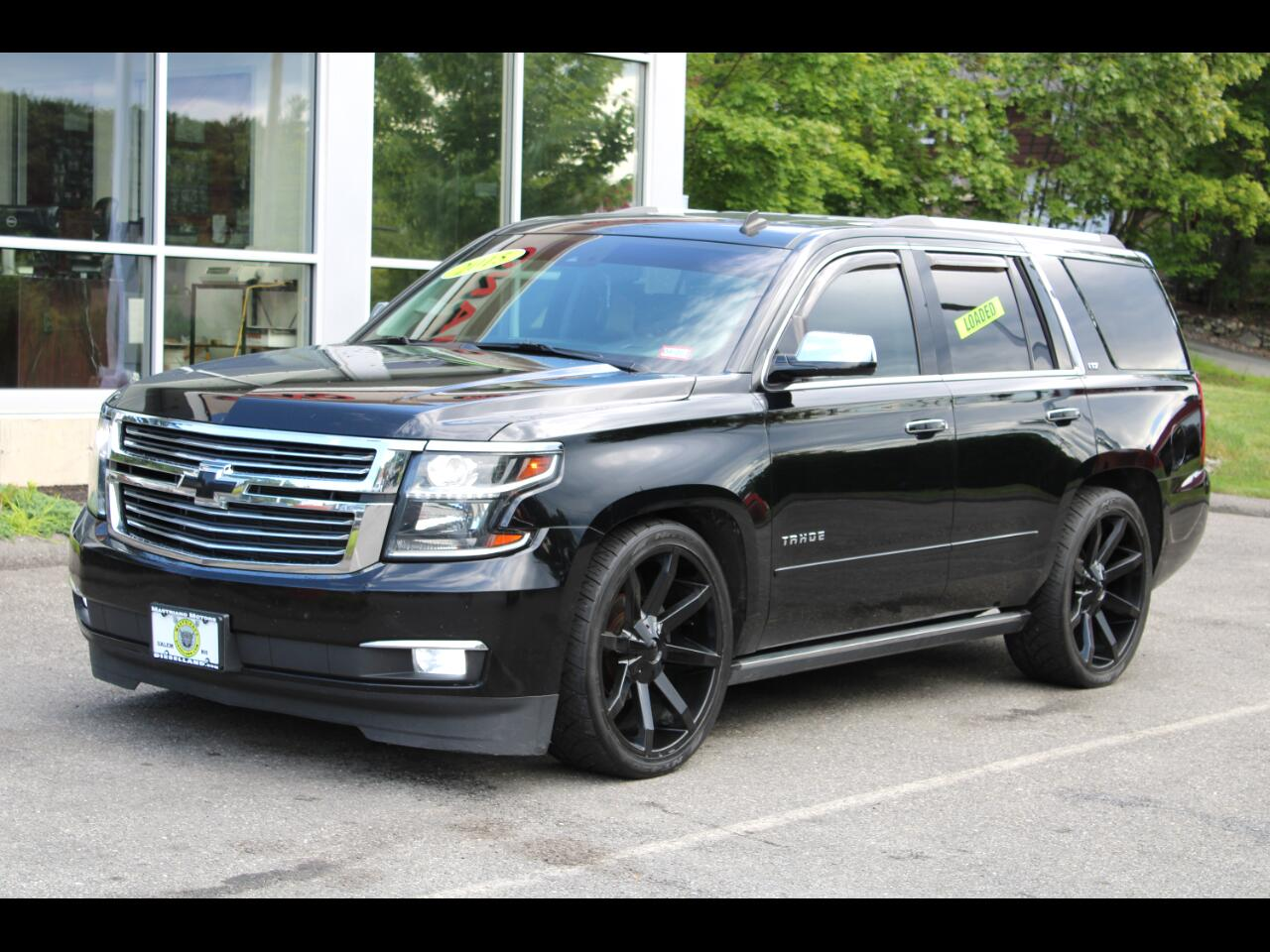 2015 Chevrolet Tahoe LTZ LOADED ALL THE OPTIONS !! 24 INCH WHEELS !!