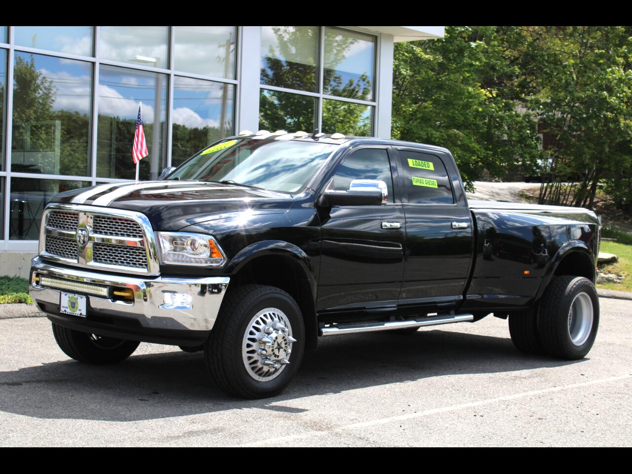 2014 RAM 3500 CUMMINS TURBO DIESEL AMERICAN FORCE WHEELS