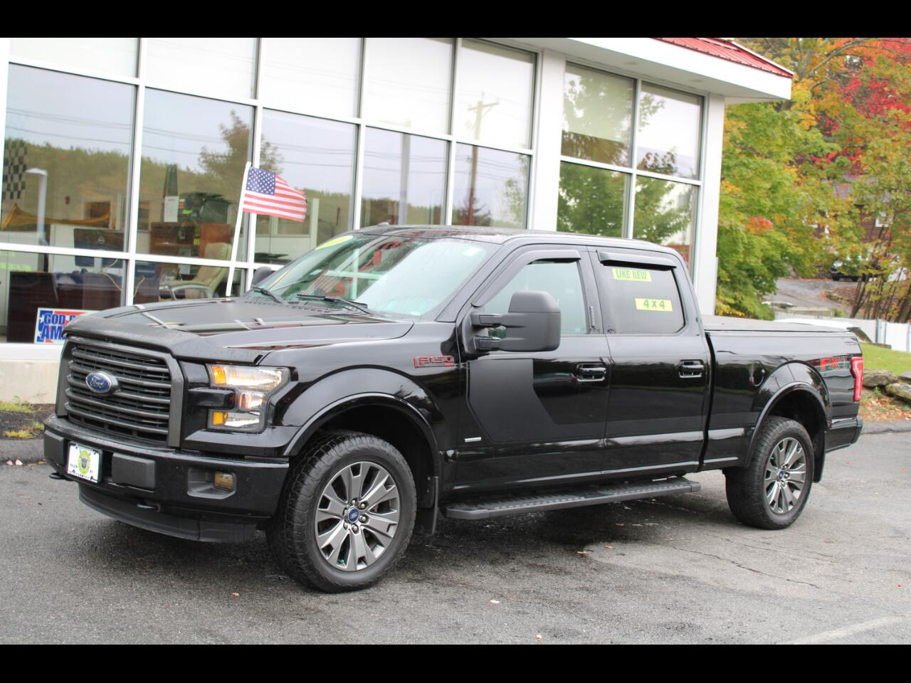 2016 Ford F-150 4WD SUPERCREW FX4 SPORT FULLY LOADED
