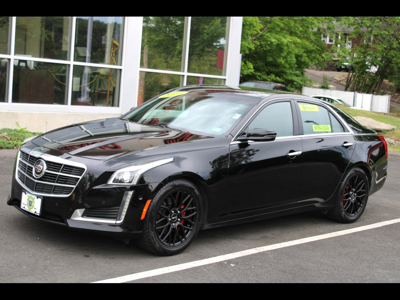 Cadillac CTS Sedan 4dr Sdn 3.6L Premium AWD 2014
