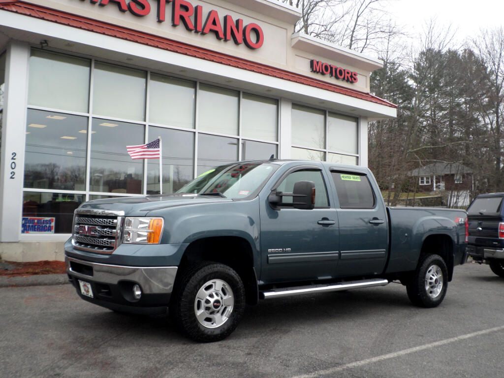 2013 GMC Sierra 2500HD SLT LOADED BLACK HEATED LEATHER Z71 !!