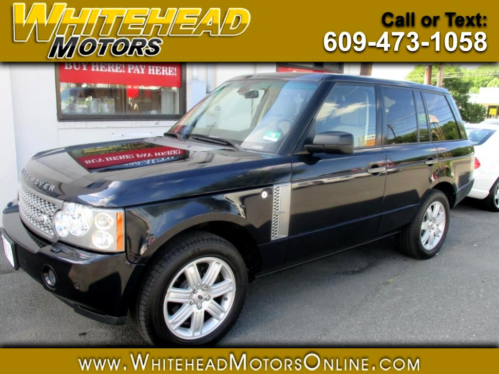 2008 Land Rover Range Rover 4WD 4dr HSE