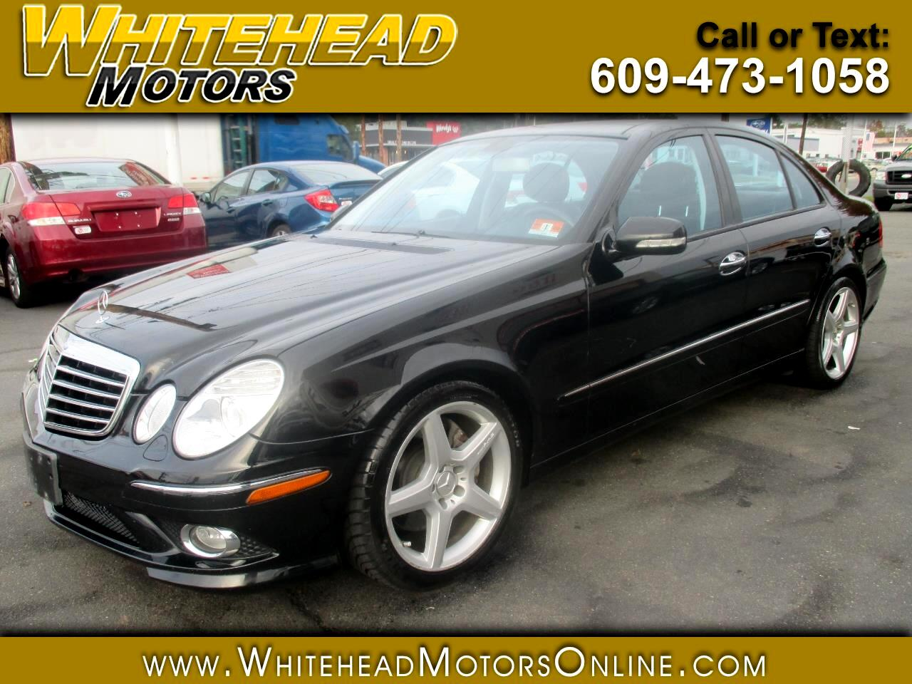 2009 Mercedes-Benz E-Class 4dr Sdn Luxury 3.5L RWD