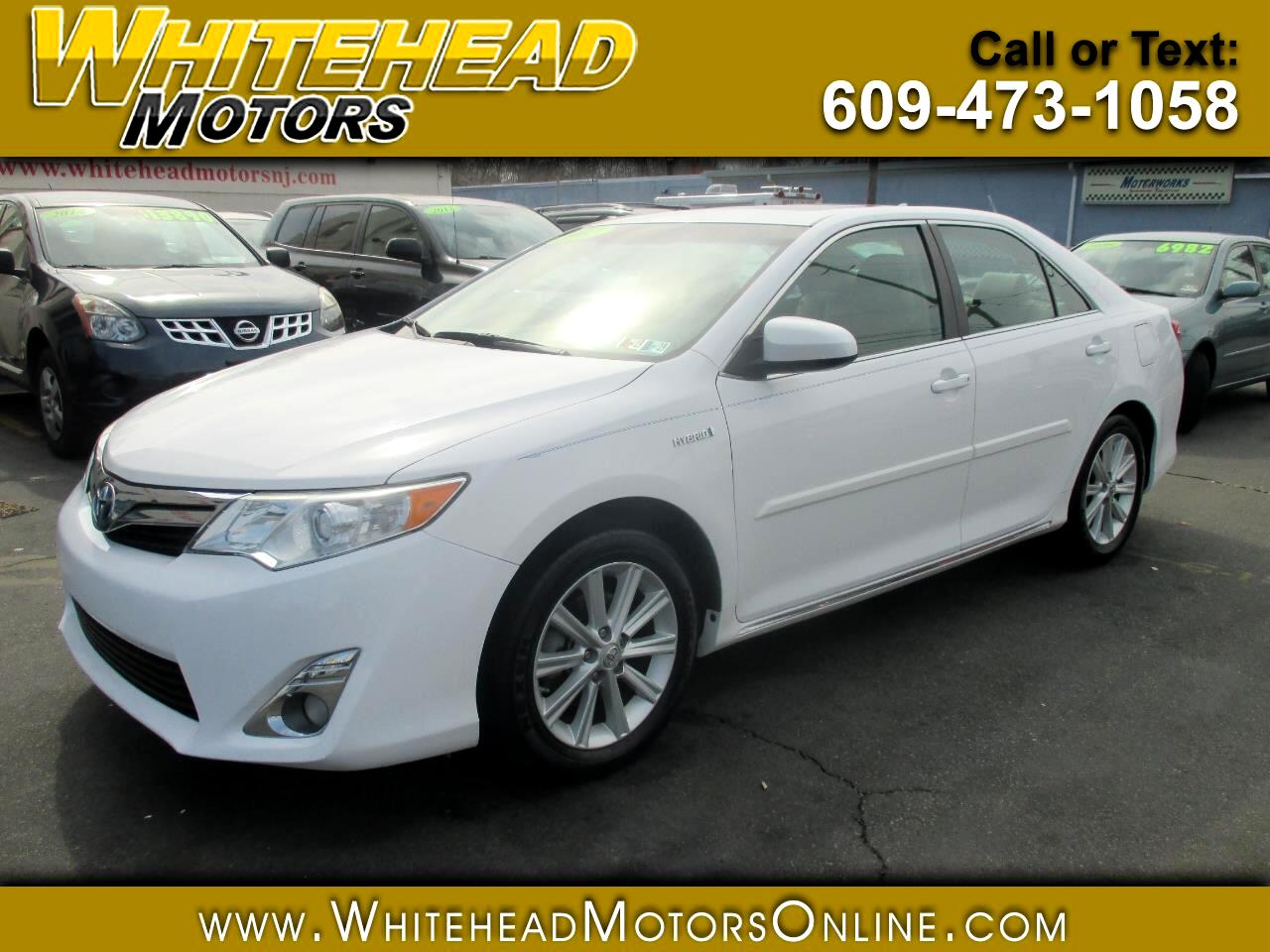 2012 Toyota Camry Hybrid 4dr Sdn XLE (Natl)