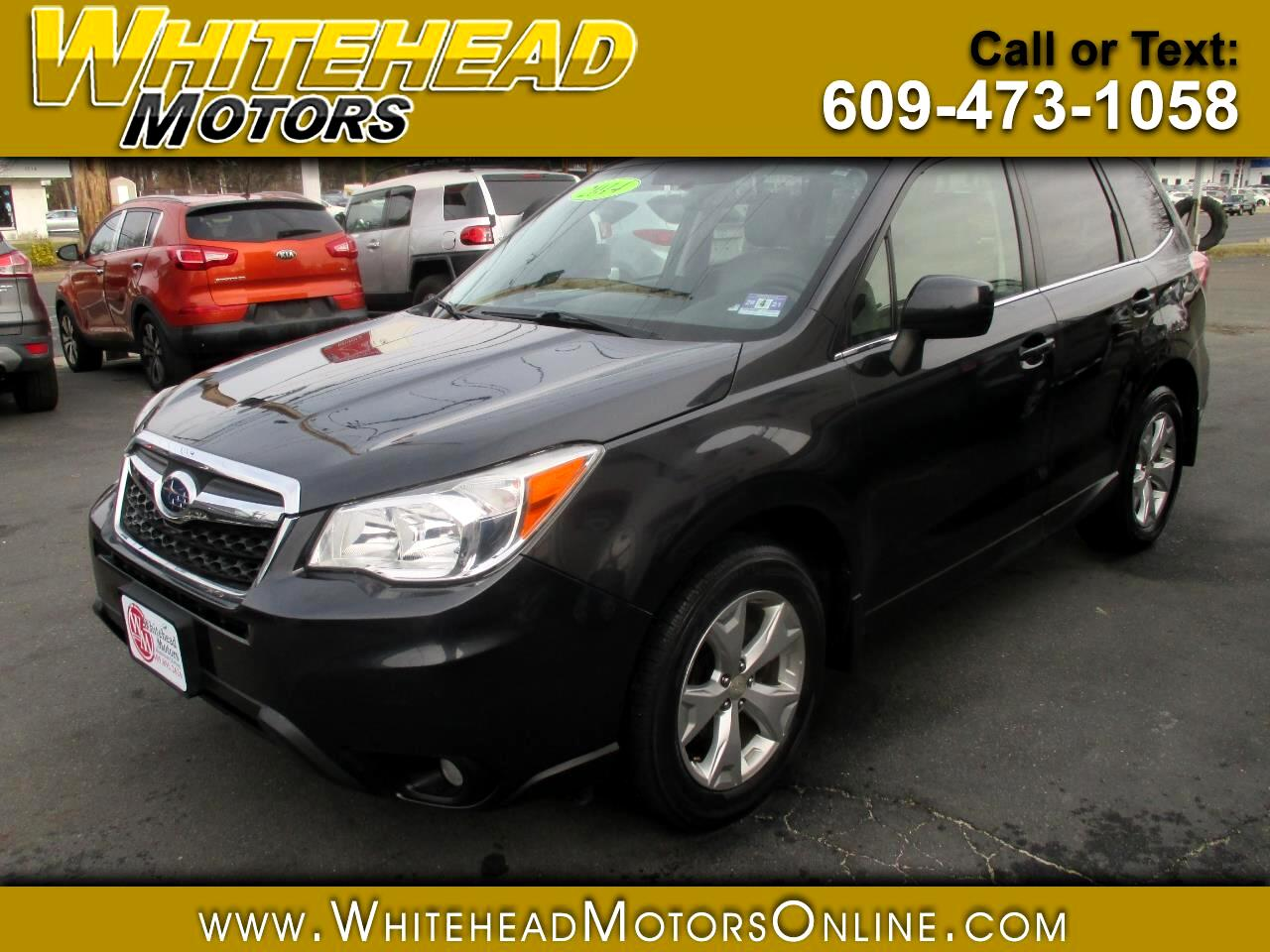 Subaru Forester 4dr Auto 2.5i Limited PZEV 2014