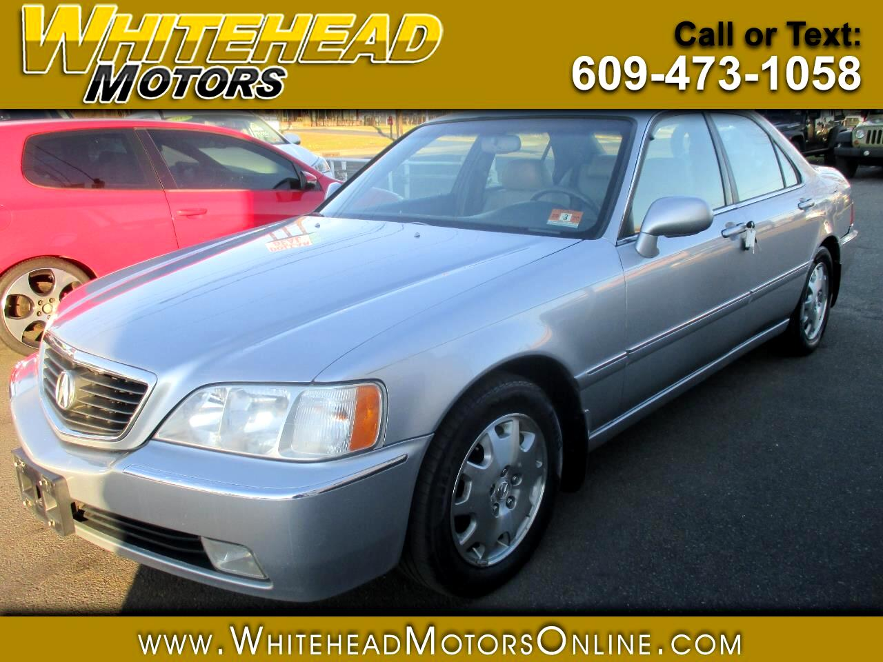 Acura RL 4dr Sdn w/Navigation System 2004