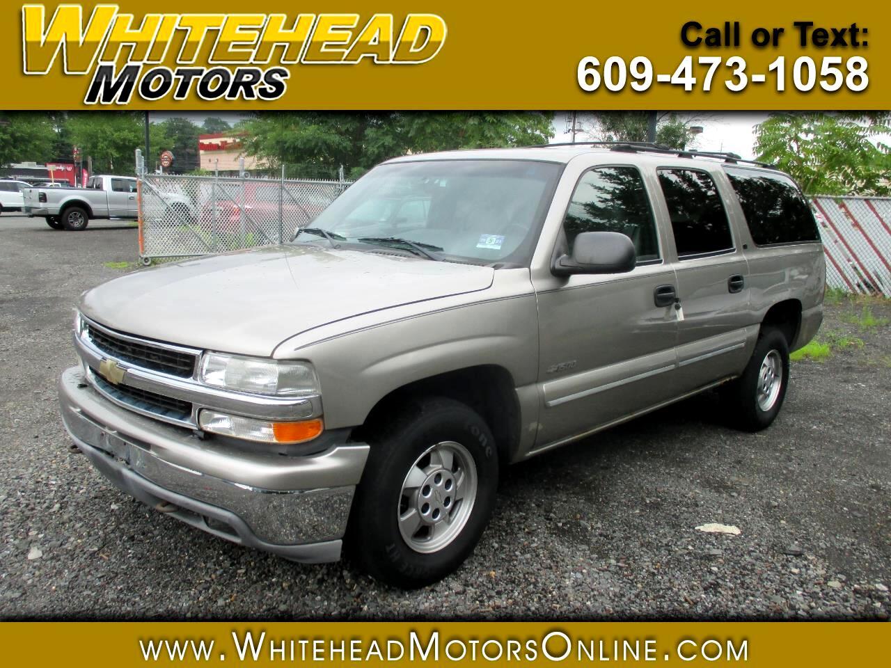 Chevrolet Suburban 1500 4WD LS 2000