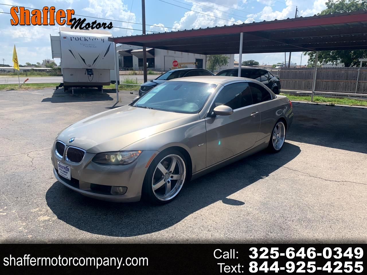 BMW 3 Series 2dr Conv 328i 2008