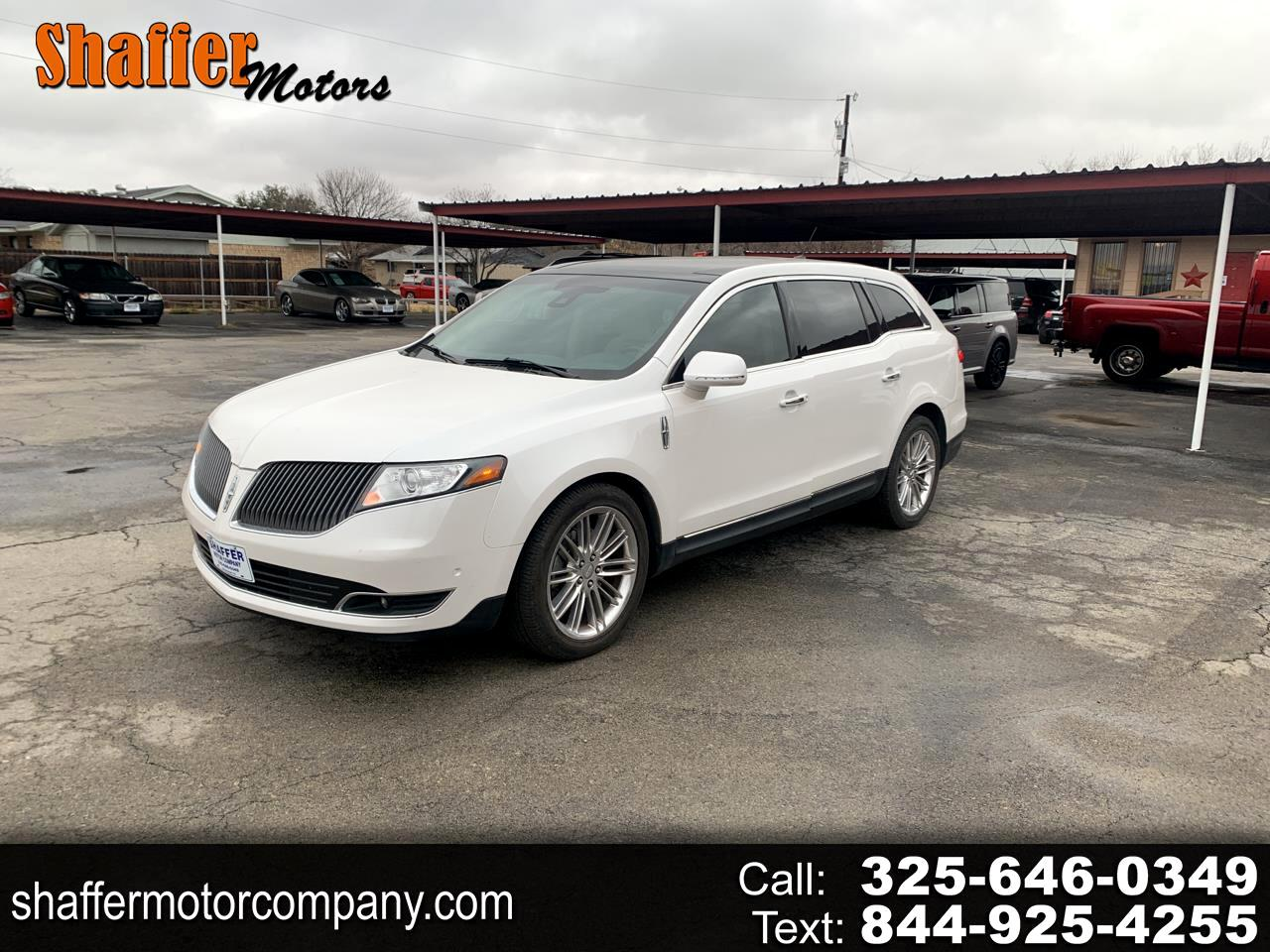 Lincoln MKT 4dr Wgn 3.5L AWD EcoBoost 2013