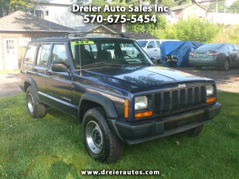 1997 Jeep Cherokee SE 4-Door 4WD