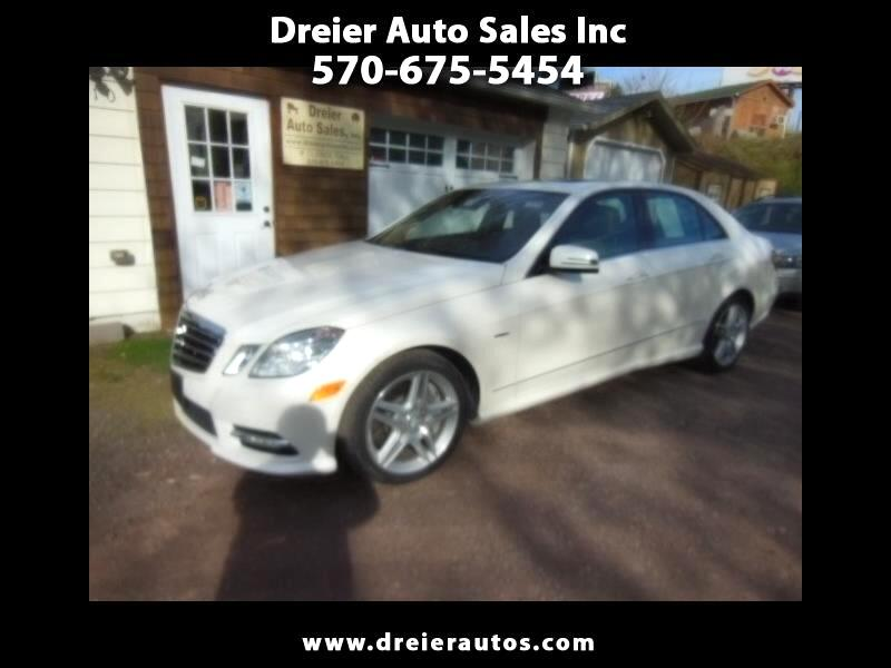 Mercedes-Benz E-Class E550 Sedan 4MATIC 2012