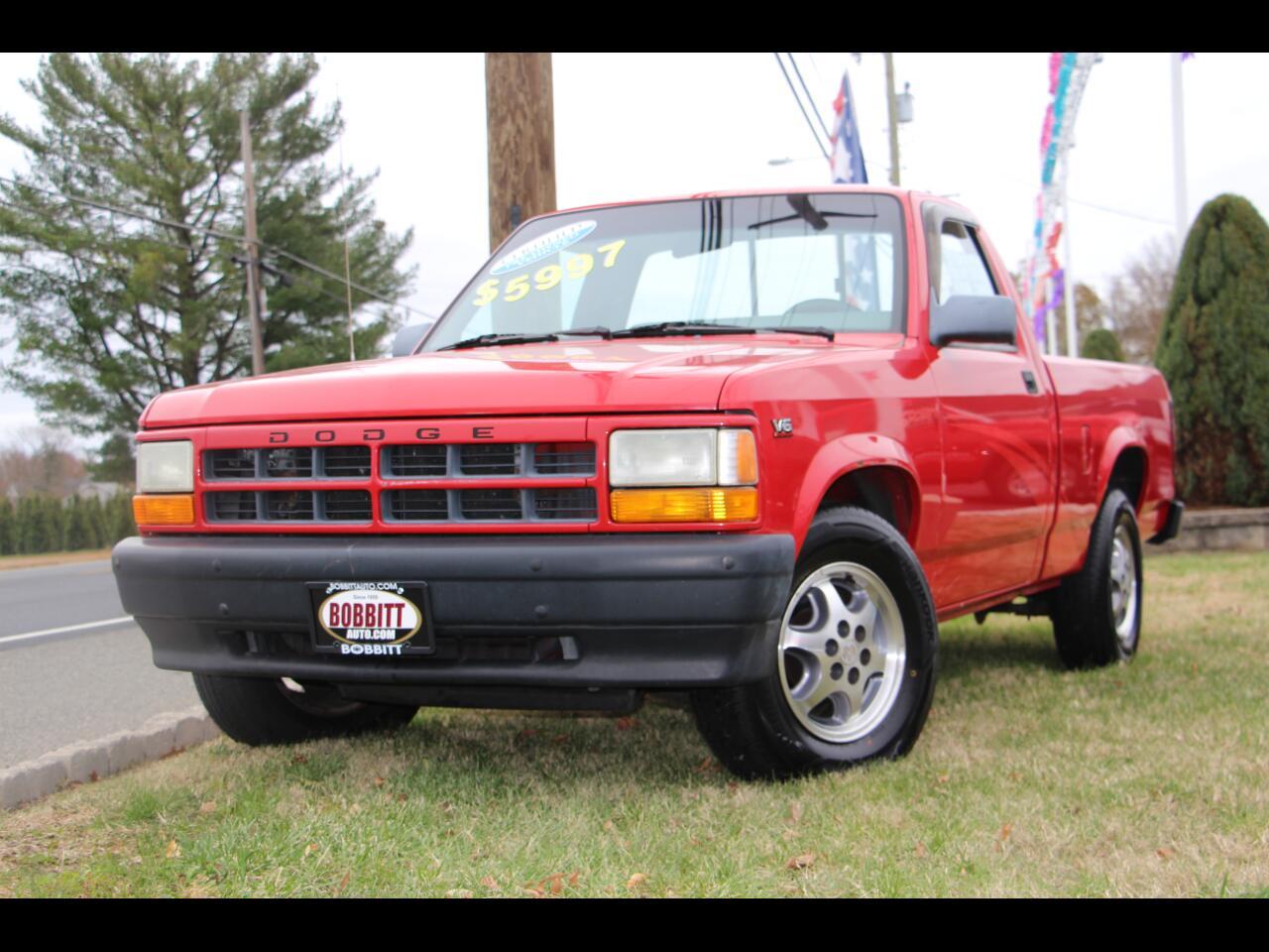 """1996 Dodge Dakota Reg Cab 112"""" WB"""