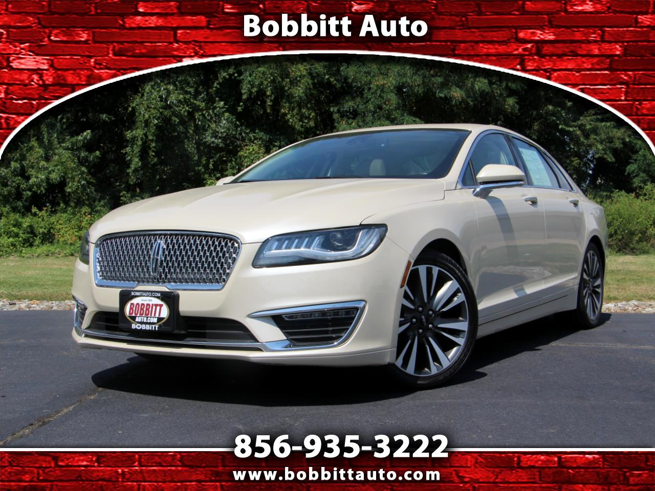 Lincoln MKZ Reserve AWD 2018