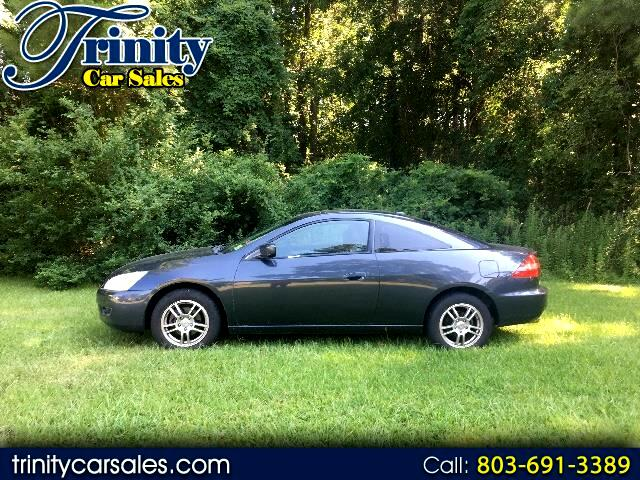 2005 Honda Accord EX Coupe with Leather