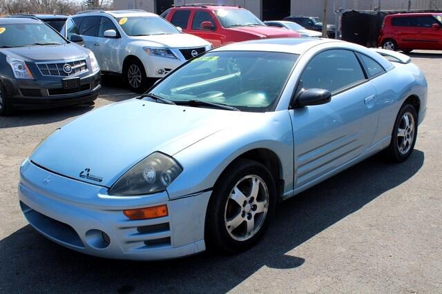 2003 Mitsubishi Eclipse 3dr Cpe GS 2.4L Manual