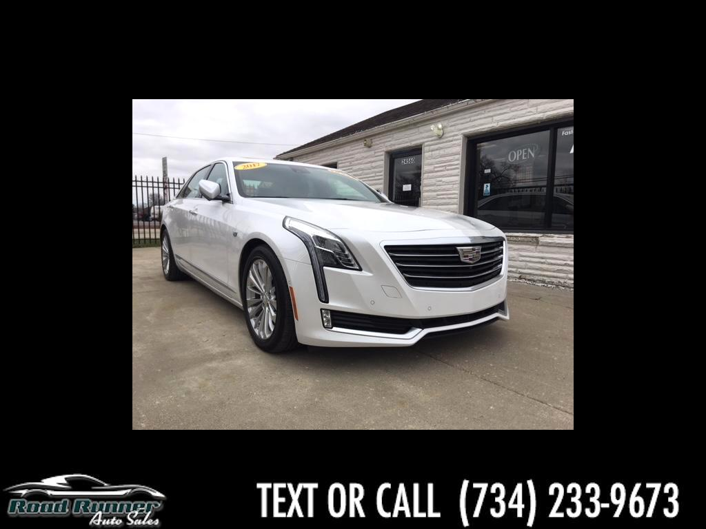 2017 Cadillac CT6 Sedan 4dr Sdn 2.0L PLUG-IN RWD