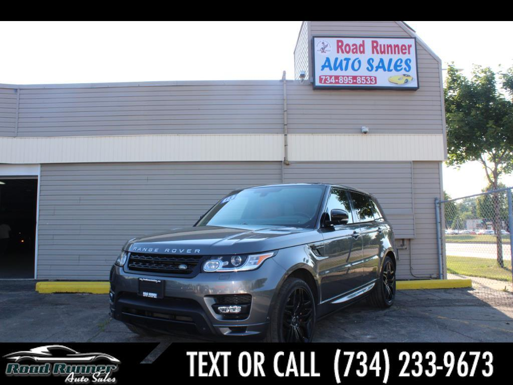 2015 Land Rover Range Rover Sport 4WD 4dr Autobiography