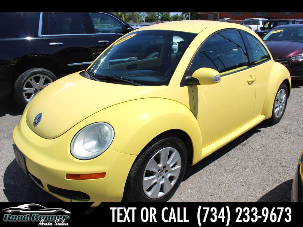 2008 Volkswagen New Beetle Coupe 2dr Man S
