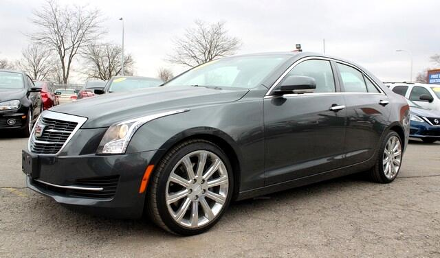 2017 Cadillac ATS 4dr Sdn 2.0L Luxury AWD