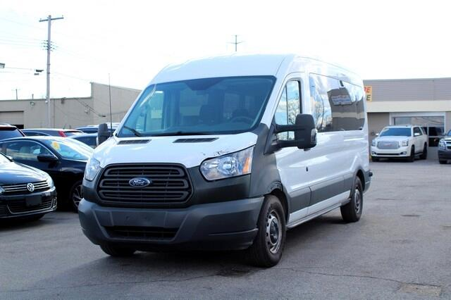 "2015 Ford Transit Wagon T-350 148"" Med Roof XL Sliding RH Dr"