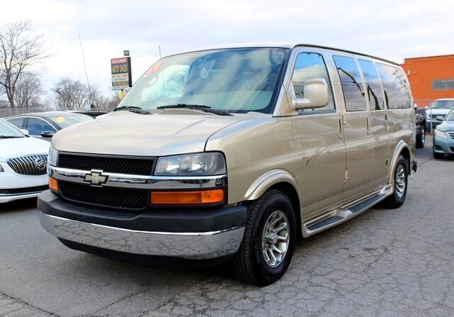 """2007 Chevrolet Express Cargo Van RWD 1500 135"""" YF7 Upfitter"""