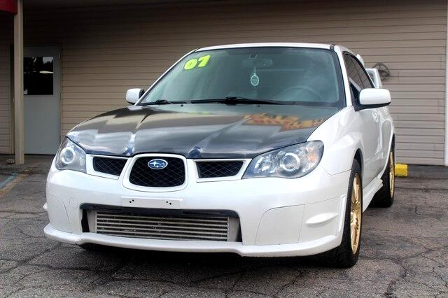 2007 Subaru Impreza Sedan 4dr H4 Turbo WRX STI w/Gold Wheels